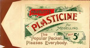 Image of a ticket advertising Harbutt's Plasticine